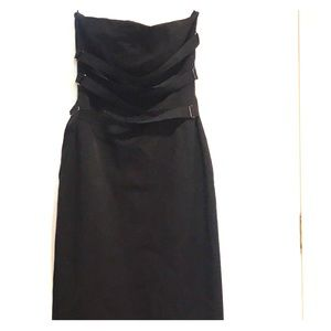 Black MNG cocktail dress size small